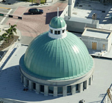 Dome of City Center Building, West Palm Beach, Florida